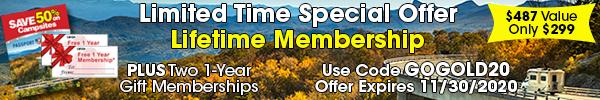 Lifetime Membership - Special Offer Offer