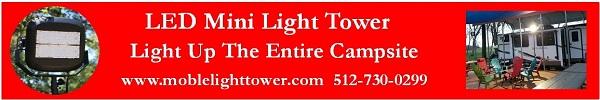 Mobile, LED Light Tower