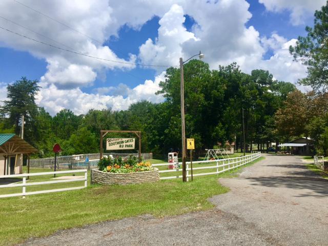 Southern gates rv park campground passport america for Renew ga fishing license
