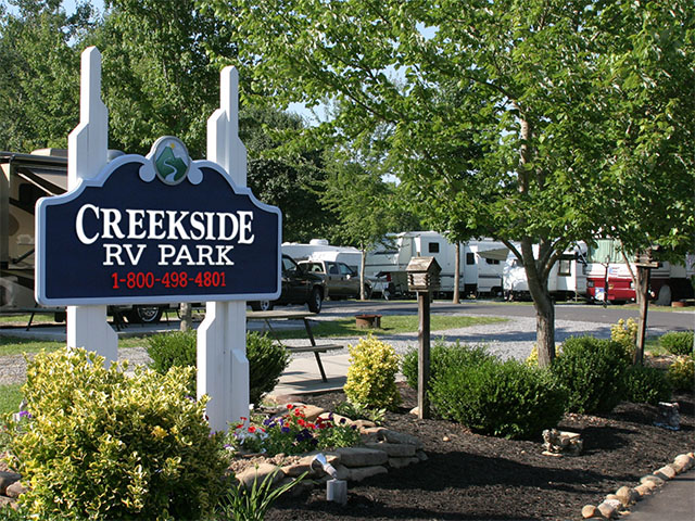 Creekside rv park camping pigeon forge tn autos post for Creekside cabins in pigeon forge tn