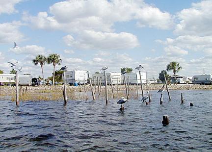 Camping Keaton Beach Florida