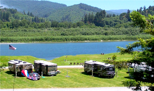 A Klamath River Rv Park Passport America Camping Amp Rv Club
