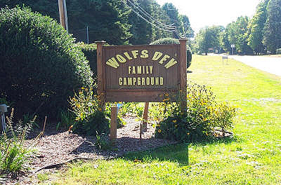 Wolf S Den Family Campground Passport America Camping