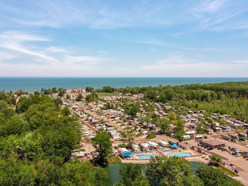 Indian Creek Resort A Sun Rv Resort Passport America