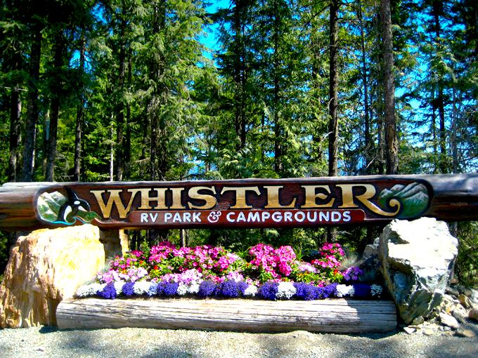 Whistler RV Park Amp Campground