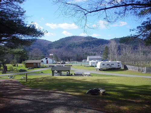 Big Rock Campground And Cabins Passport America Camping