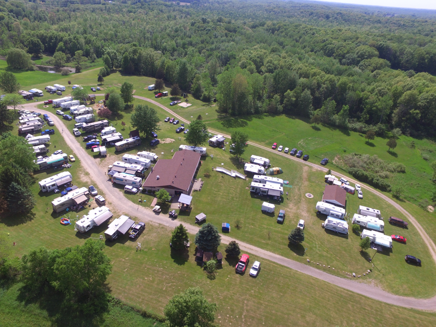 Bellevue Campground Travel Trailer Club Of The Midwest
