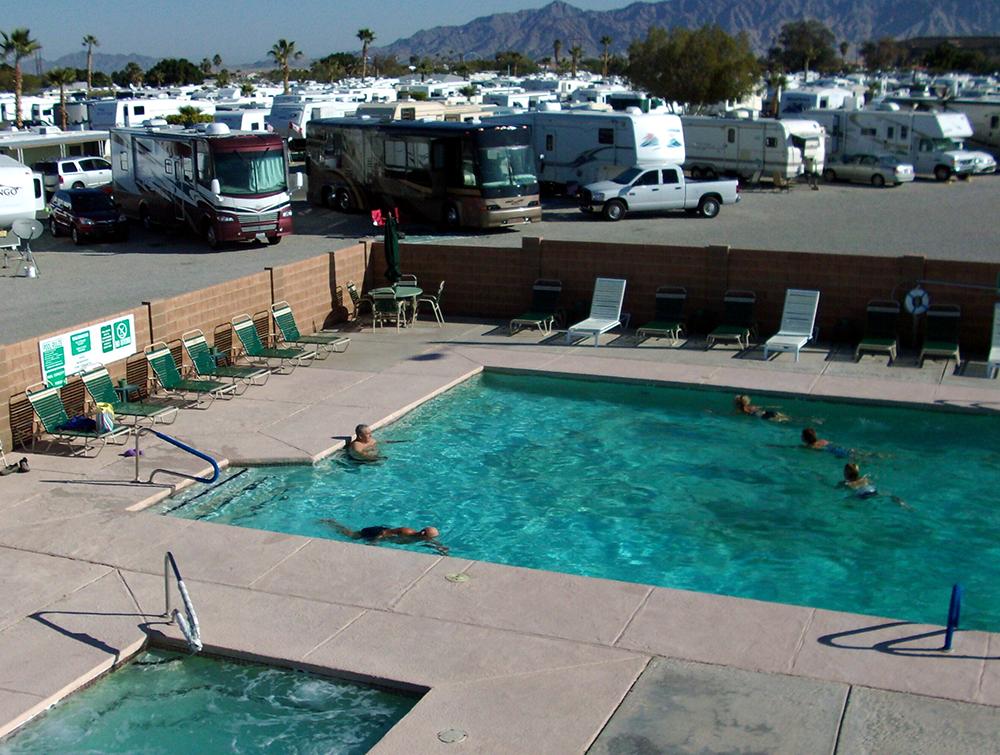 Caravan Oasis Rv Resort Passport America Camping Amp Rv Club