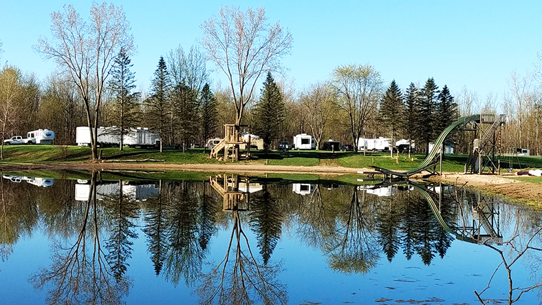 Best full hookup campgrounds in michigan