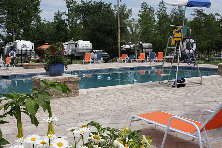 Camping La Cle Des Champs Rv Resort Passport America