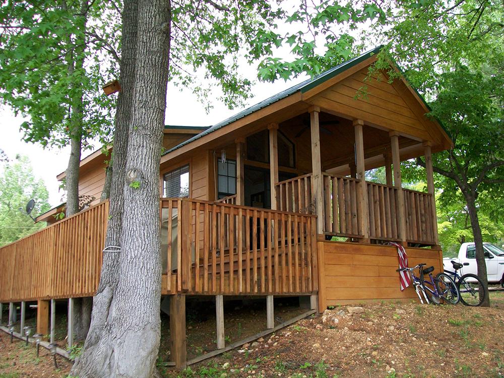 Logan Landing Rv Amp Cabin Resort Passport America Camping