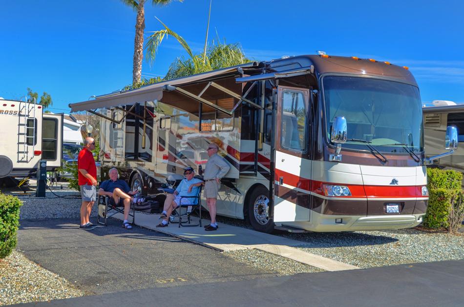 Golden Village Palms Rv Resort Passport America Camping