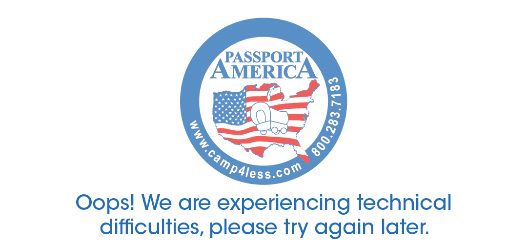 Passport America - Error