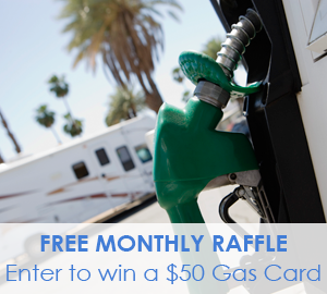 Passport America Gas Card Raffle