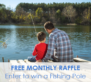 Passport America Fishing Pole Raffle